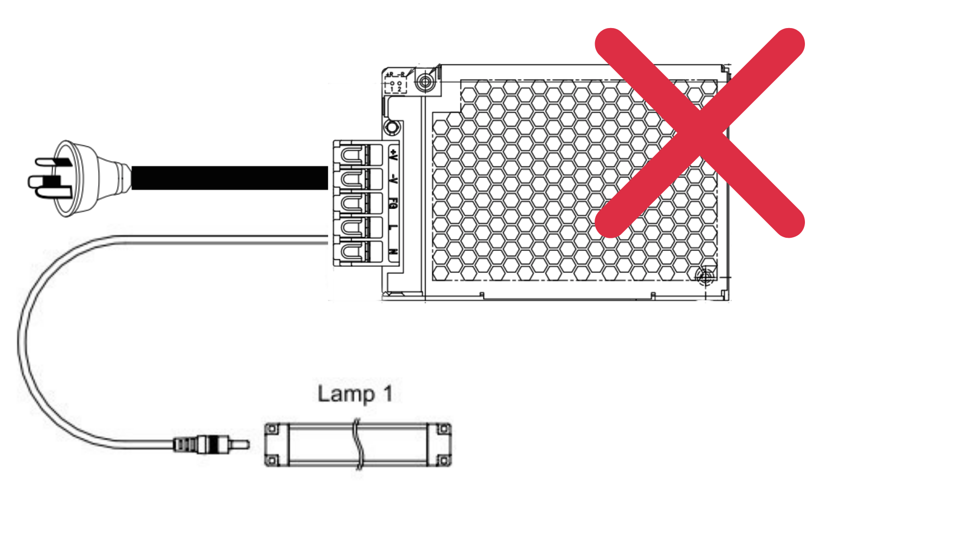 unsafe_power_supply_for_led_modules_and_led_strips